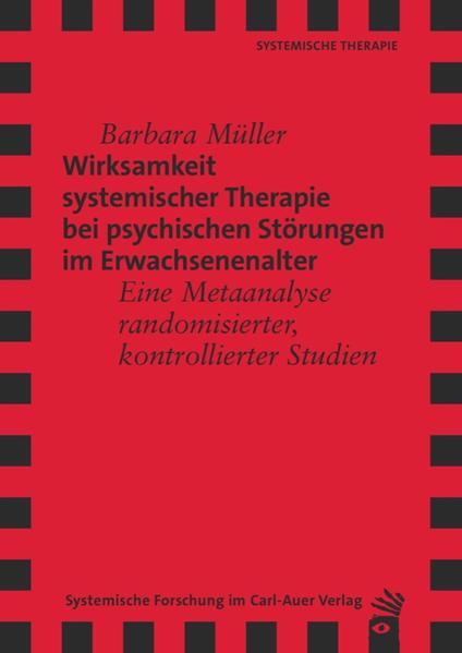 Wirksamkeit Systemischer Therapie bei psychischen Störungen im Erwachsenenalter - Coverbild