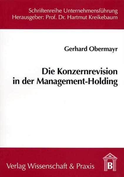 Die Konzernrevision in der Management-Holding - Coverbild