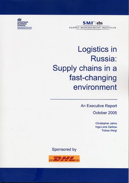Logistics in Russia: Supply Chains in a fast-changing environment - Coverbild