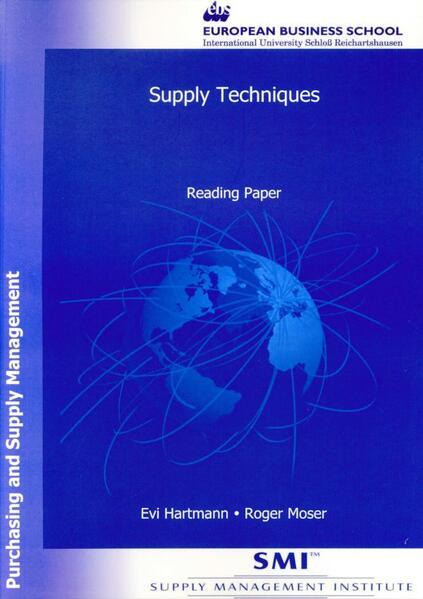 Supply Techniques - Coverbild