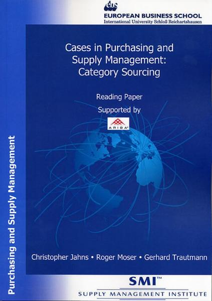 Cases in Purchasing and Supply Management: Category Sourcing - Coverbild