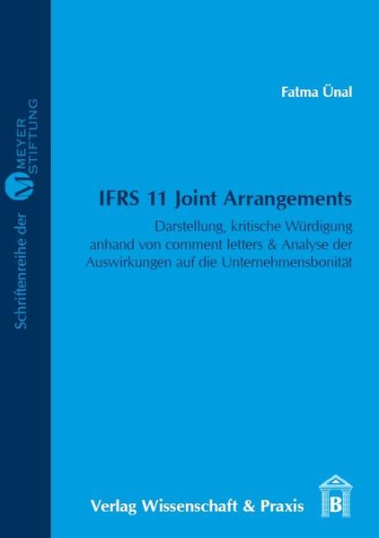 IFRS 11 Joint Arrangements - Coverbild