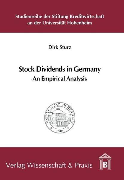 Stock Dividends in Germany - Coverbild