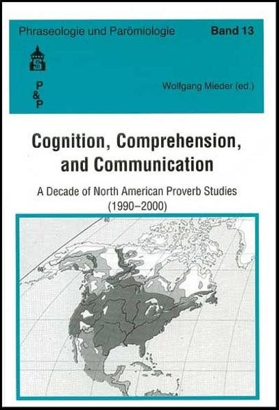 Cognition, Comprehension and Communication - Coverbild