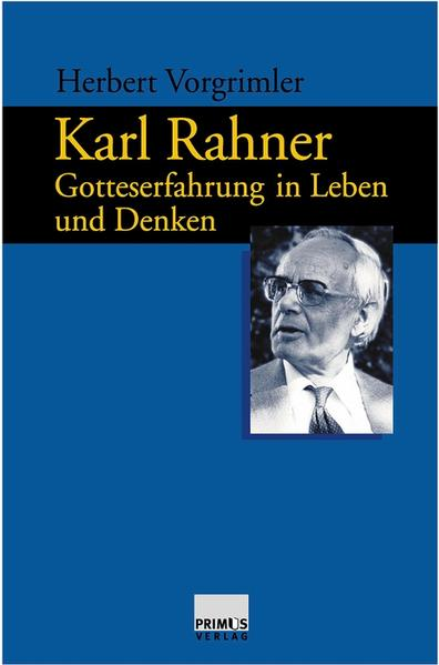 Karl Rahner - Coverbild