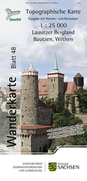 Lausitzer Bergland/Bautzen, Wilthen - Coverbild