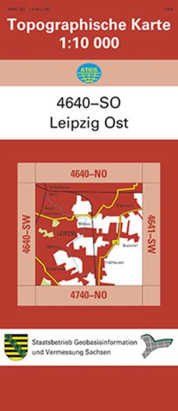 Leipzig Ost (4640-SO) - Coverbild