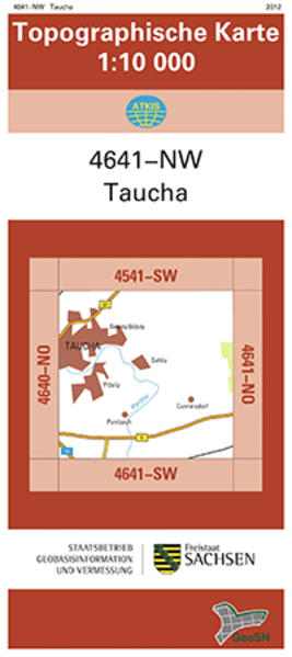 Taucha (4641-NW) - Coverbild