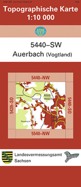 Auerbach (Vogtland) (5440-SW) - Coverbild