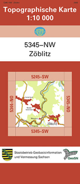 Zöblitz (5345-NW) - Coverbild