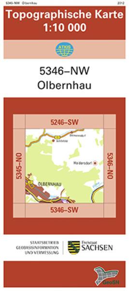 Olbernhau (5346-NW) - Coverbild