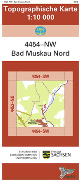 Bad Muskau Nord (4454-NW) - Coverbild