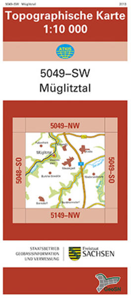 Müglitztal (5049-SW) - Coverbild