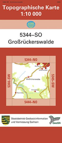 Großrückerswalde (5344-SO) - Coverbild