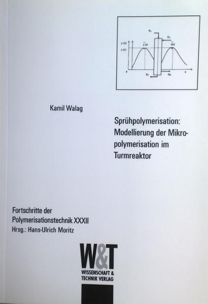 Sprühpolymerisation: Modellierung der Mikropolymerisation im Turmreaktor - Coverbild