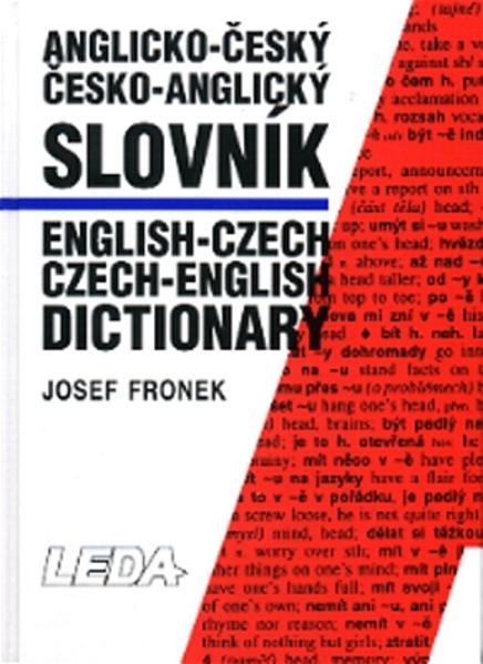 Englisch-Tschechisch Wörterbuch /English-Czech Dictionary - Coverbild