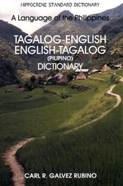Englisch-Tagalog & Tagalog-Englisch Wörterbuch - Coverbild