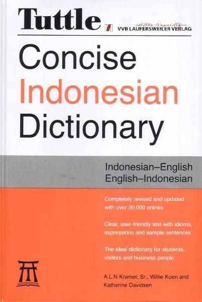 Indonesisch-Englisch & Englisch-Indonesisch Wörterbuch /Indonesian-English & English-Indonesian Dictionary - Coverbild
