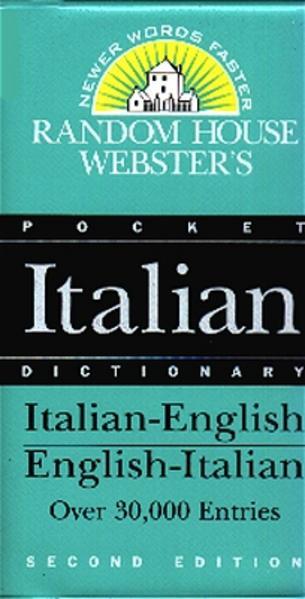 Italienisch-Englisch & Englisch-Italienisch Wörterbuch über 100000 Stw./Italian-English & English-Italian Dictionary /Dizionario Italiano - Inglese & Inglese - Italiano - Coverbild