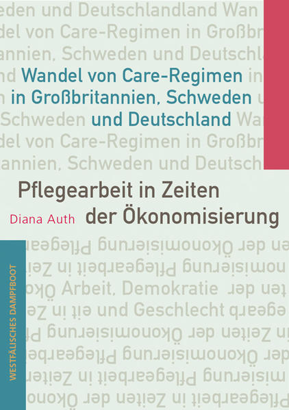 Pflegearbeit in Zeiten der Ökonomisierung - Coverbild