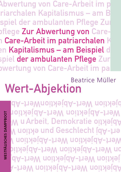 Wert-Abjektion - Coverbild
