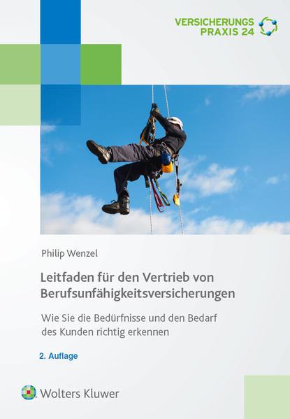 Leitfaden für den Vertrieb von Berufsunfähigkeitsversicherungen - Coverbild