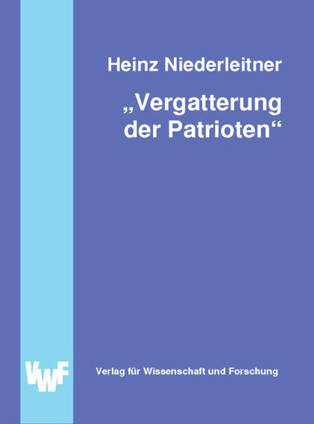 Vergatterung der Patrioten - Coverbild