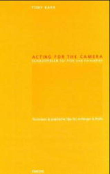 Acting for the Camera - Coverbild