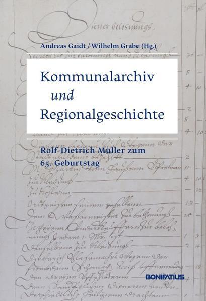 Kommunalarchiv und Regionalgeschichte - Coverbild