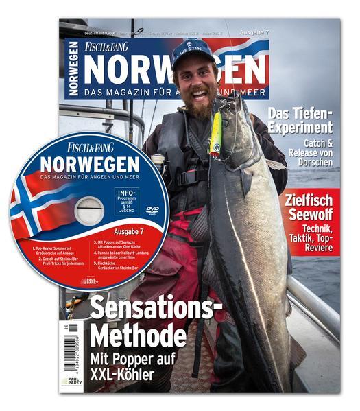 FISCH & FANG Sonderheft Nr. 37: Norwegen Magazin Nr. 7 - Coverbild