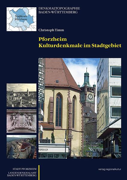 Pforzheim - Kulturdenkmale im Stadtgebiet - Coverbild