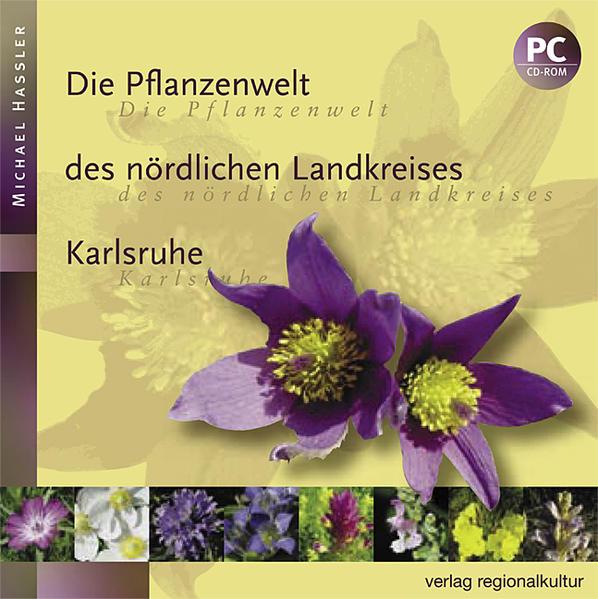 Die Pflanzenwelt des nördlichen Landkreises Karlsruhe - Coverbild