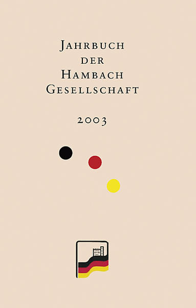 Jahrbuch der Hambach-Gesellschaft 11/2003 - Coverbild