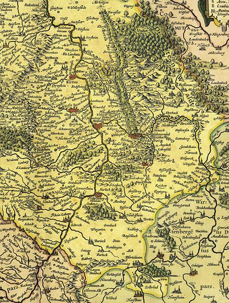 Palatinatus Rheni Nova, et Accurata Descriptio - Coverbild