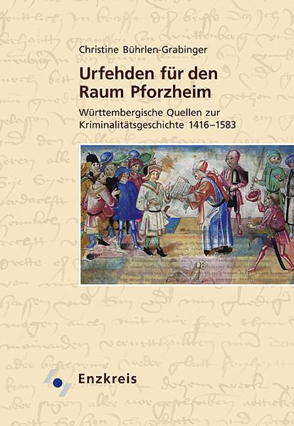 Urfehden für den Raum Pforzheim - Coverbild