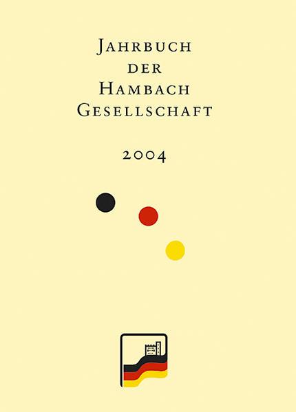 Jahrbuch der Hambach-Gesellschaft 12/2004 - Coverbild
