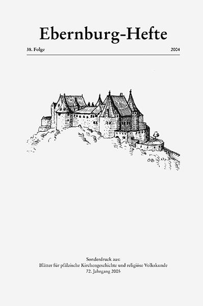 Ebernburg-Hefte / Ebernburg-Hefte - Coverbild