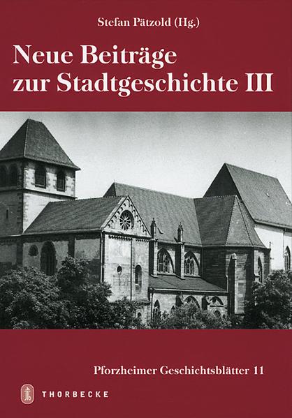 Neue Beiträge zur Stadtgeschichte III - Coverbild
