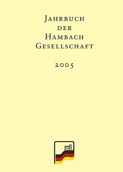 Jahrbuch der Hambach-Gesellschaft 13/2005 - Coverbild
