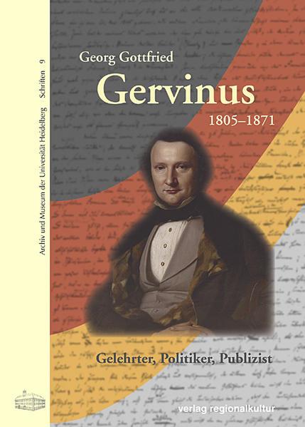Georg Gottfried Gervinus 1805-1871 - Coverbild