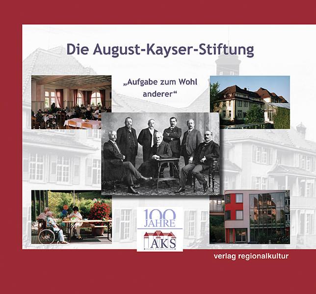 Die August-Kayser-Stiftung - Coverbild