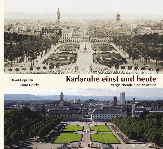 Karlsruhe einst und heute - Coverbild