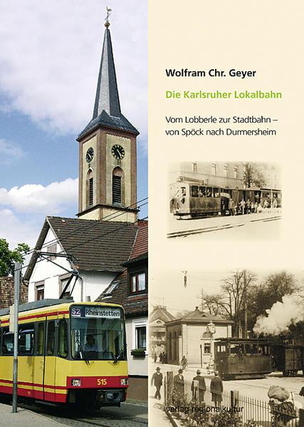 Die Karlsruher Lokalbahn - Coverbild
