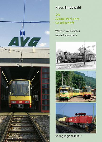 Die Albtal-Verkehrs-Gesellschaft - Coverbild