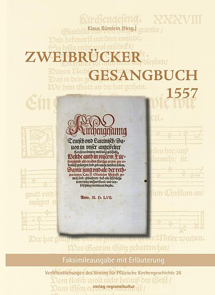 Zweibrücker Gesangbuch 1557 - Coverbild