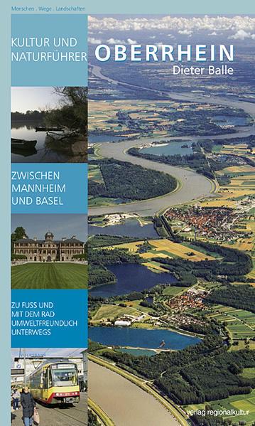 Kultur- und Naturführer Oberrhein - Coverbild