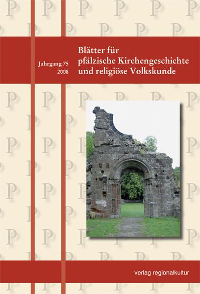 Blätter für pfälzische Kirchengeschichte und religiöse Volkskunde / Blätter für pfälzische Kirchengeschichte und religiöse Volkskunde - Coverbild