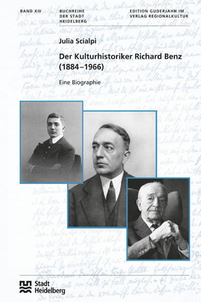 Der Kulturhistoriker Richard Benz (1884 –1966) - Coverbild