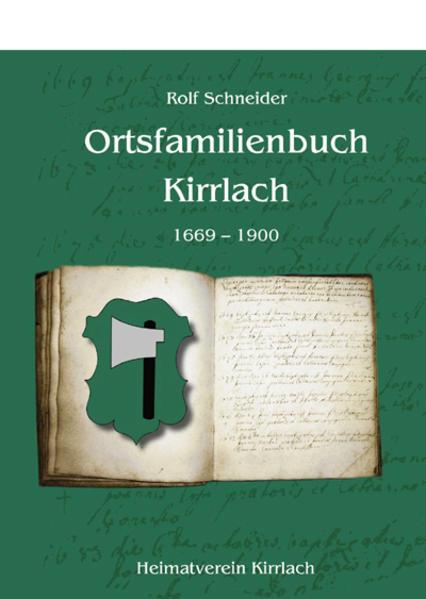 Ortsfamilienbuch Kirrlach - Coverbild