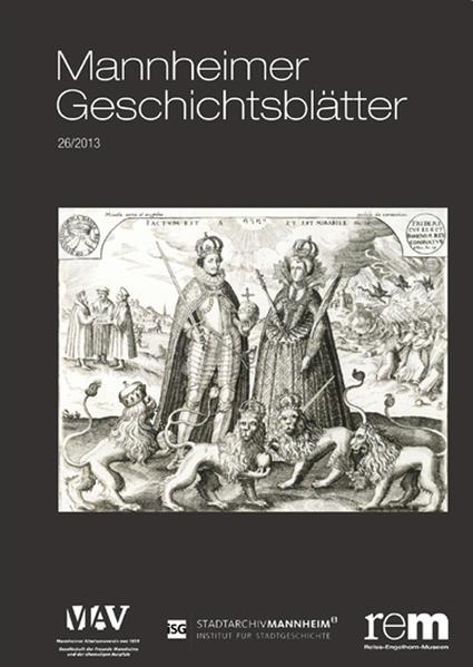 Mannheimer Geschichtsblätter 26/2013 - Coverbild